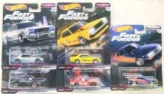 ワイルド・スピードFASTREWINDシリーズ 5台セット MATTEL