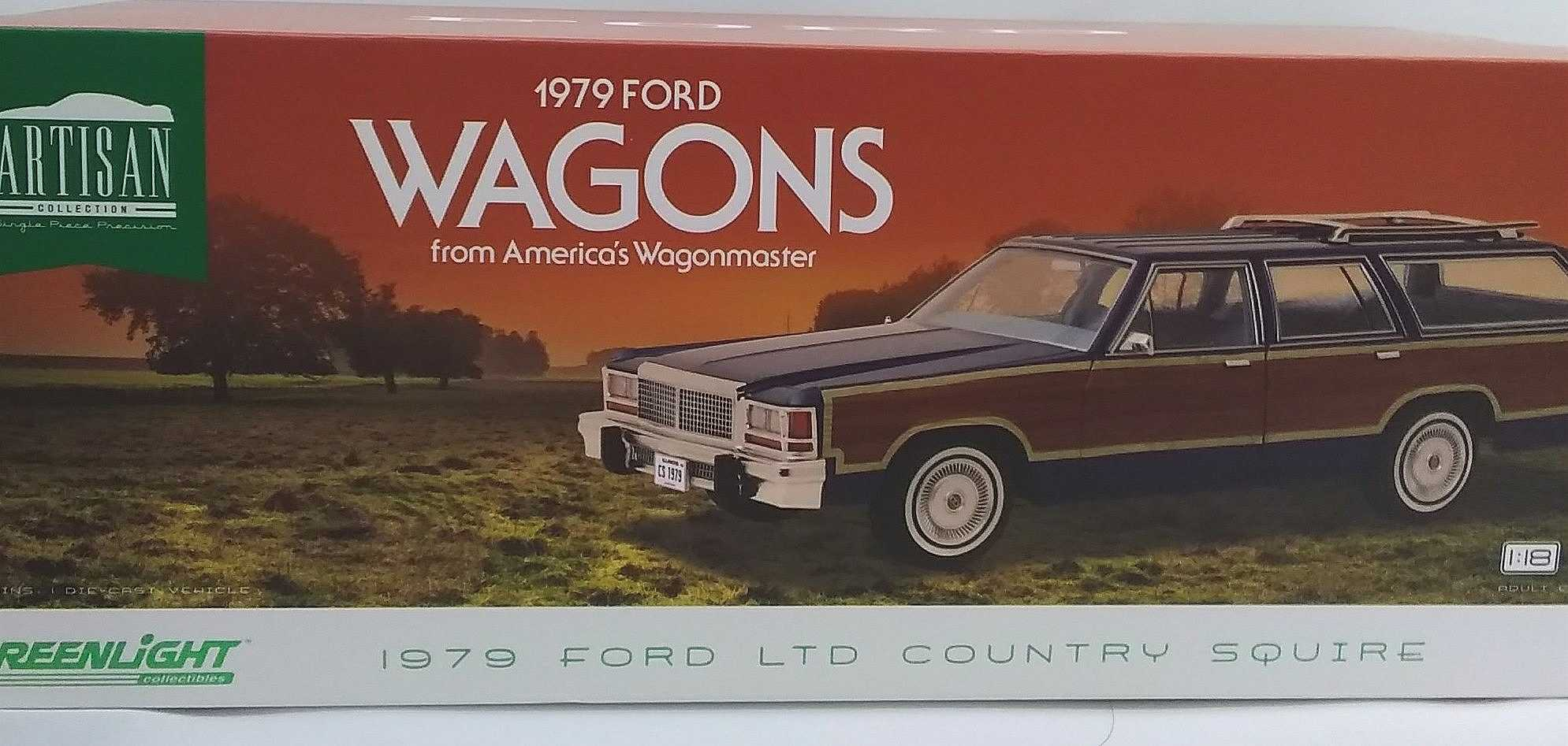 フォード カントリースクワイア|グリーンライト
