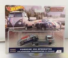 ポルシェ356スピードスター&フォルクスワーゲントランスポー|Hot Wheels