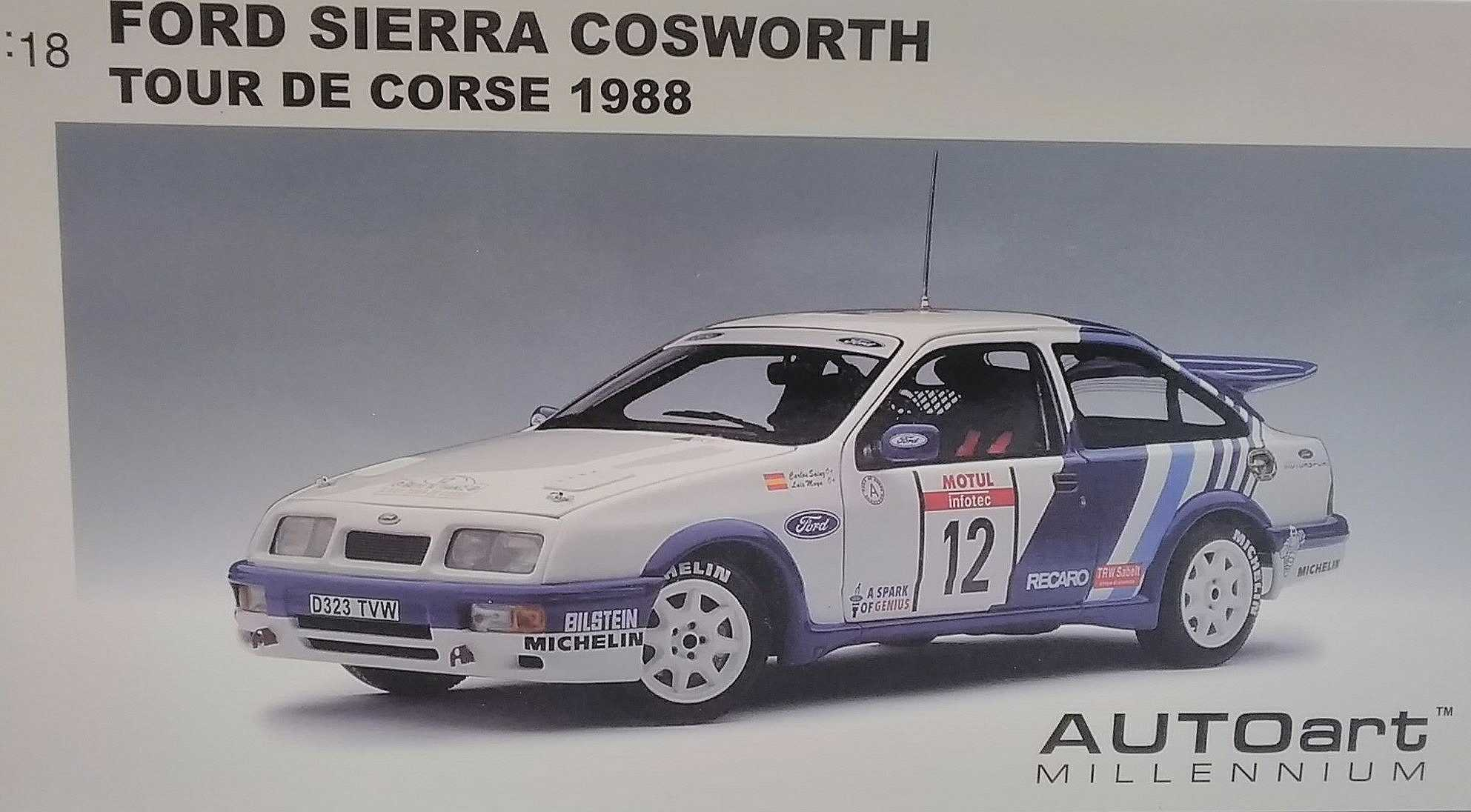 フォード シエラ コスワース 1988|AUTOART