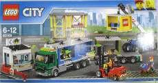 レゴ シティ配送センターとコンテナトラック|LEGO