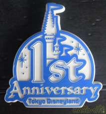 東京ディズニーランド 1周年記念 ディズニー