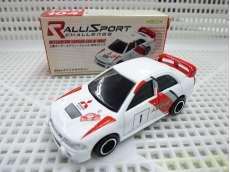 トミカ 三菱ランサーエボリューションIV WRCタイプ 管理No.3122|トミー