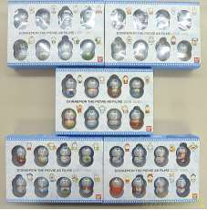 【未開封品】ドラえもん クーナッツ 5BOX(40種)フルコンプ 管理No.2726 BANDAI