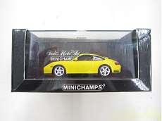 Porsche 911 4S 2001 Yellow Model 管理No.2058|MINICHAMPS