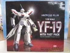 【開封・未使用】マクロスプラス 1/60 完全変形 YF-19 管理No.983|ARCADIA