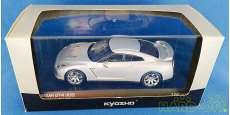 日産 GT-R R35 2007 アルティメイトメタルシルバー|KYOSHO