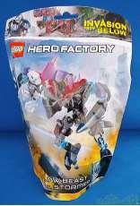 HERO FCTORY - JAW BEAST VS. STORMER|LEGO