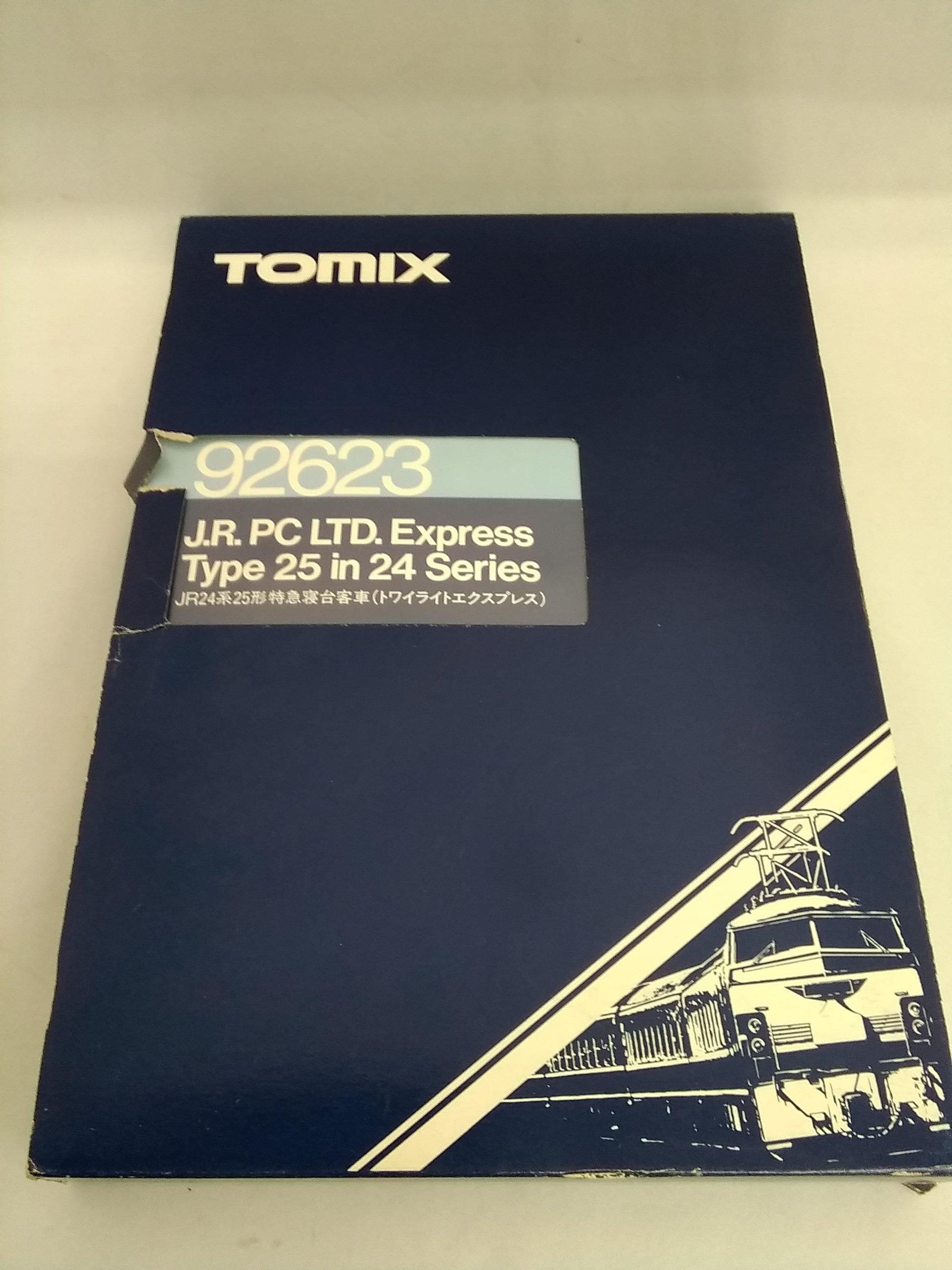 JR24系25形トワイライトエクスプレス基本セット トミックス
