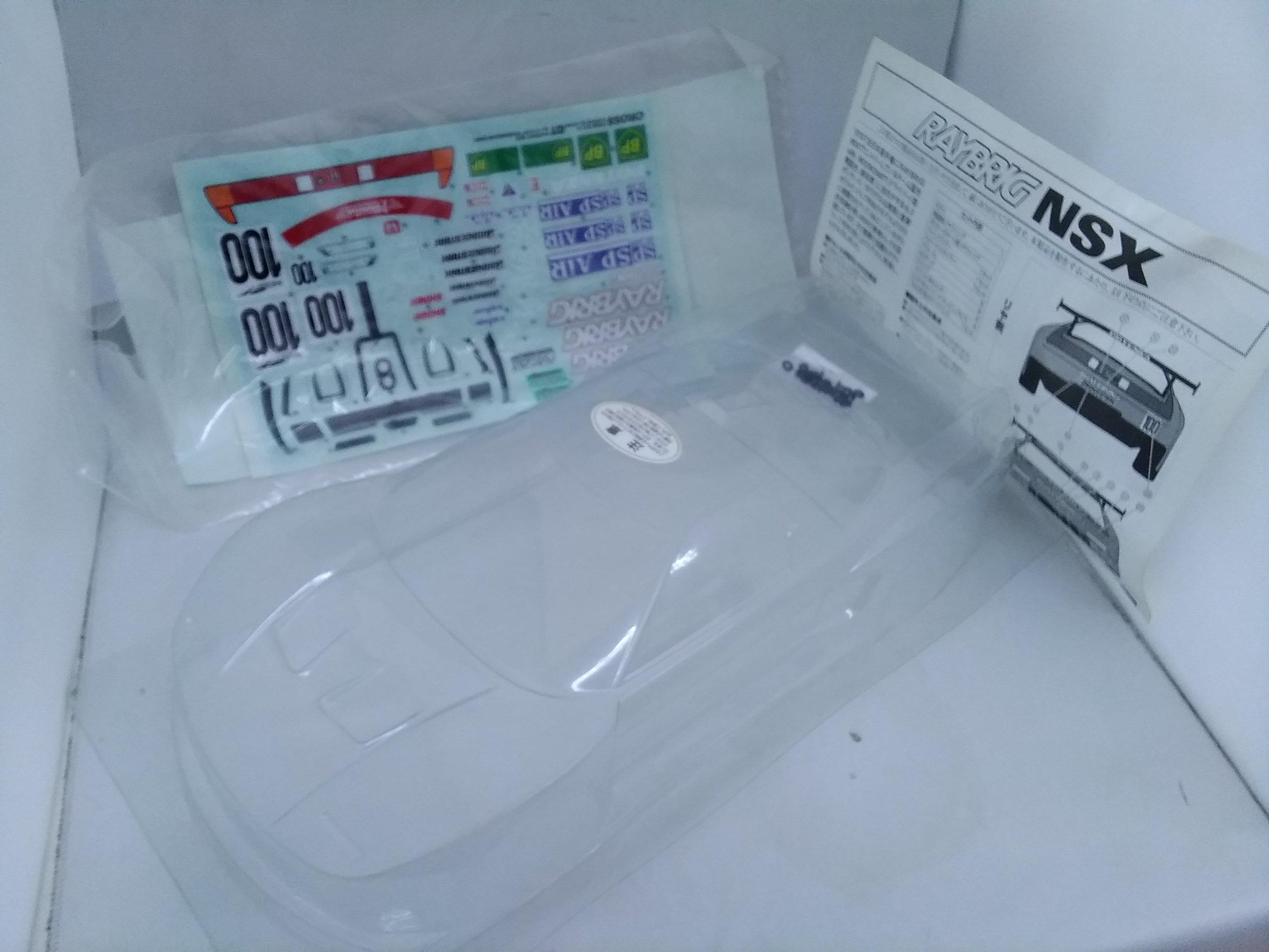 RAYBRIG NSX ボディ|クロス