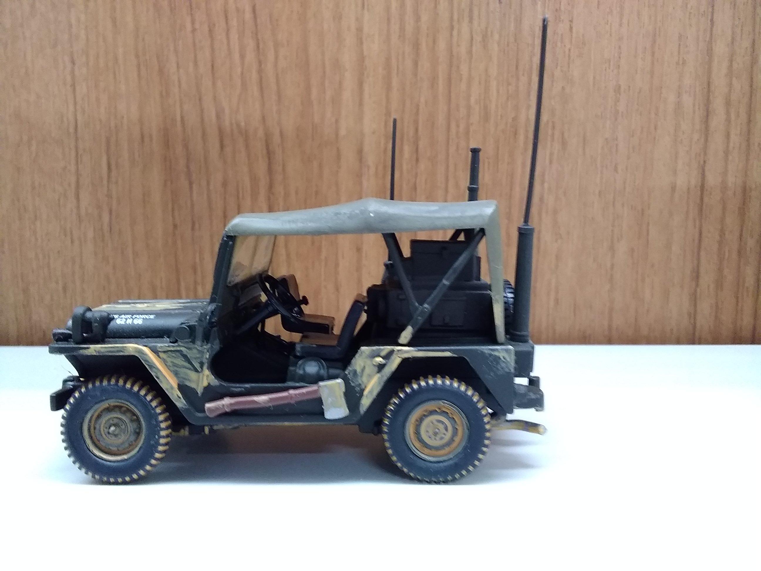 M151A1(MUT)U.S.A.F仕様|CORGI