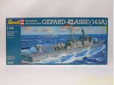 1/144 高速艇 KI.143A ゲパルト|REVELAUDIO