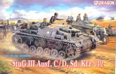 1/35 StuG III Ausf. C/D DRAGON