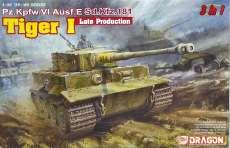 1/35 タイガーI 後期型 (3in1) DRAGON