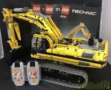 【動作確認済/すぐ遊べる状態】TECHNICショベルカー|LEGO