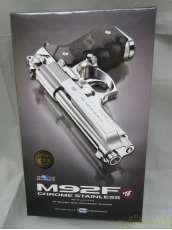 M92F クロームステンレスモデル|東京マルイ